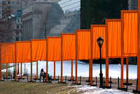 christo: the gates in central park